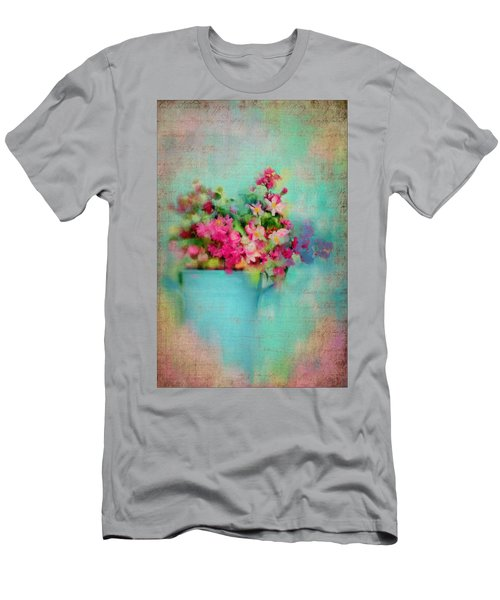 Flowers From A Cottage Garden Men's T-Shirt (Athletic Fit)