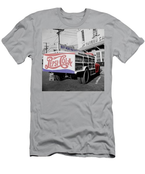 Vintage Pepsi Truck Men's T-Shirt (Athletic Fit)