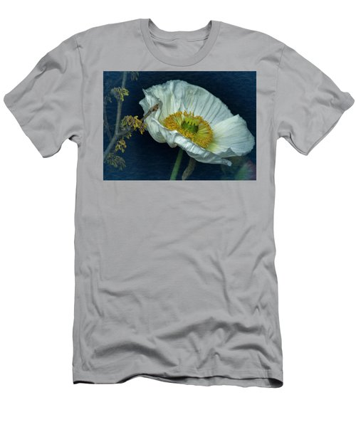 Vintage Poppy 2017 No. 2 Men's T-Shirt (Athletic Fit)