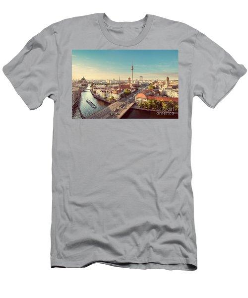 Vintage Berlin Men's T-Shirt (Athletic Fit)
