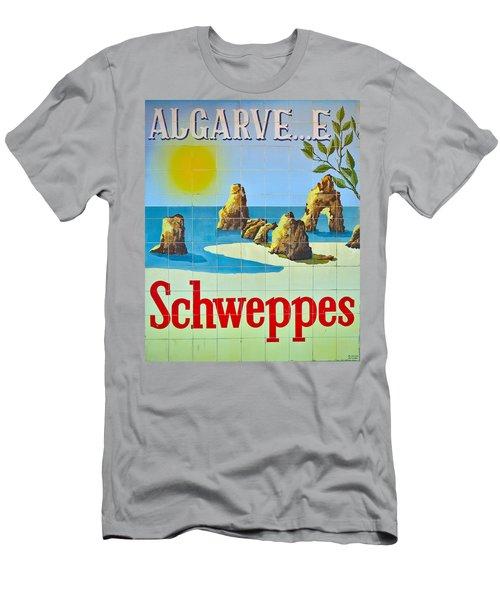 Vintage Schweppes Algarve Mosaic Men's T-Shirt (Athletic Fit)
