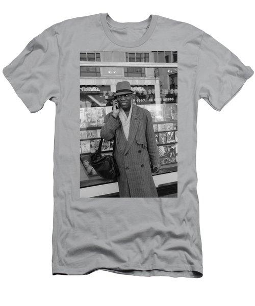 Vinyl Men's T-Shirt (Athletic Fit)