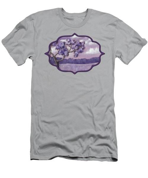Violet Mood Men's T-Shirt (Athletic Fit)