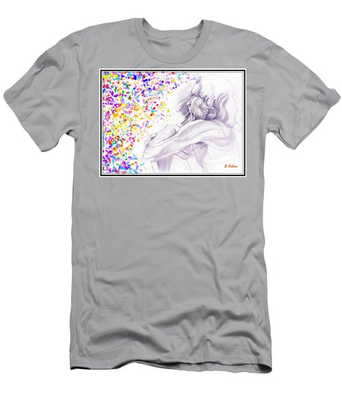 Visionary Men's T-Shirt (Slim Fit) by Denise Fulmer
