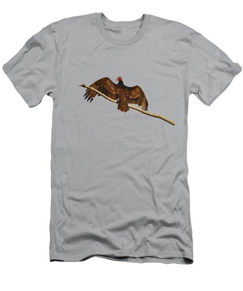 Vivid Vulture .png Men's T-Shirt (Athletic Fit)