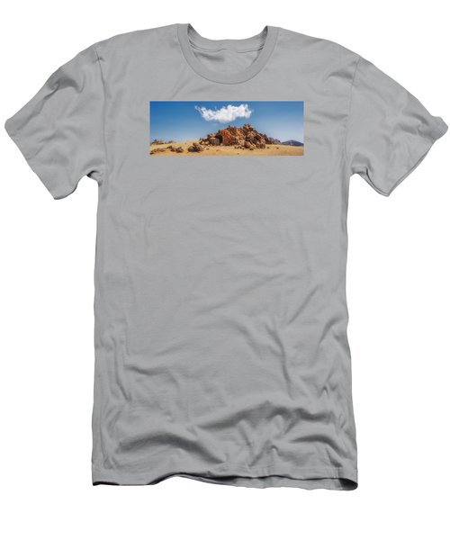 Men's T-Shirt (Athletic Fit) featuring the photograph Volcanic Rocks by James Billings