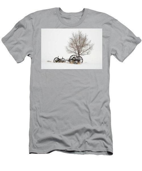 Wagon In The Snow Men's T-Shirt (Athletic Fit)