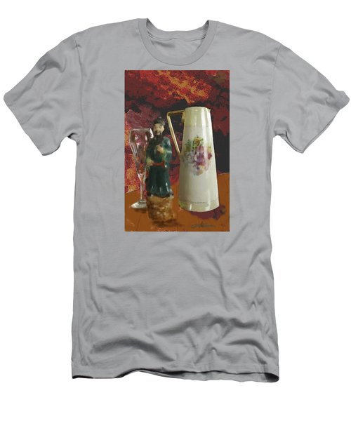 Men's T-Shirt (Slim Fit) featuring the digital art Waiting by Dale Stillman