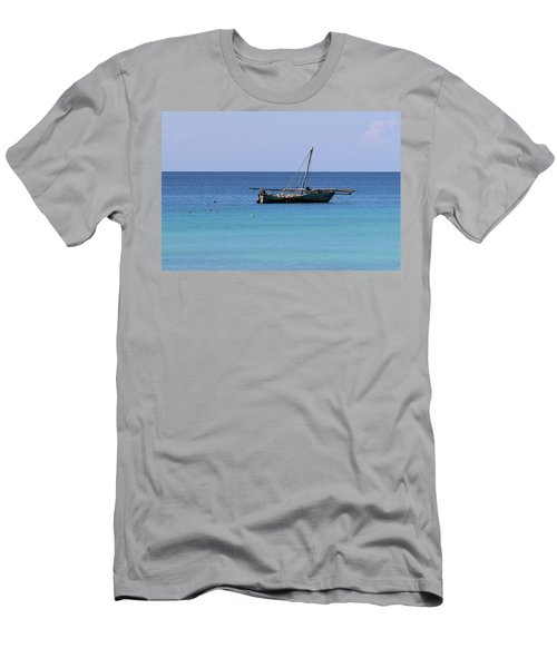 Waiting For Adventure Men's T-Shirt (Athletic Fit)