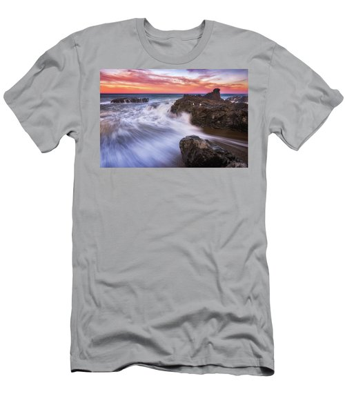 Men's T-Shirt (Athletic Fit) featuring the photograph Waiting For Breakfast by Darren White