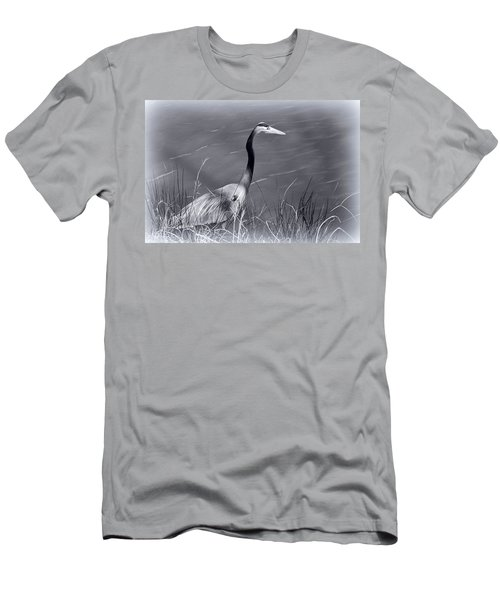 Men's T-Shirt (Slim Fit) featuring the photograph Waiting For Lunch by Ludwig Keck