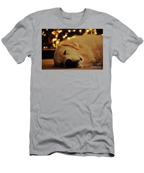 Waiting For Santa Men's T-Shirt (Athletic Fit)