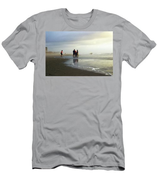 Men's T-Shirt (Slim Fit) featuring the photograph Waiting For The Sun by Phil Mancuso