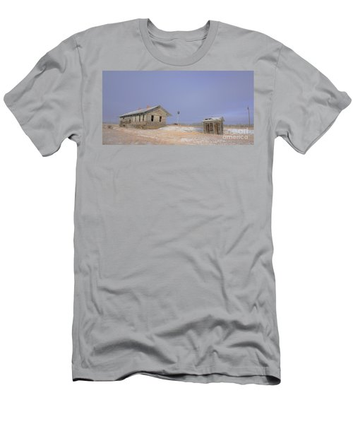 Waiting For The Train To Come Men's T-Shirt (Athletic Fit)