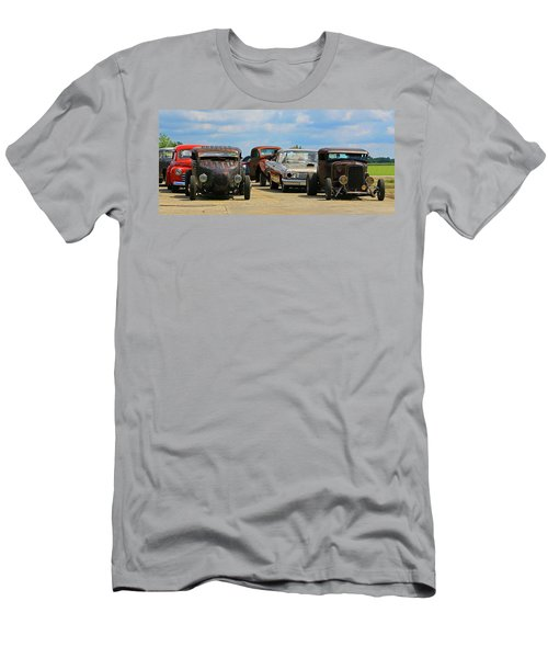 Waiting In Line Men's T-Shirt (Athletic Fit)