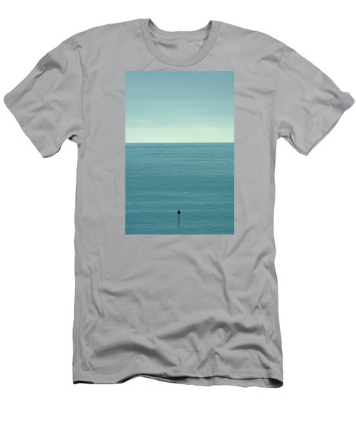 Waiting Men's T-Shirt (Slim Fit) by Peter Tellone