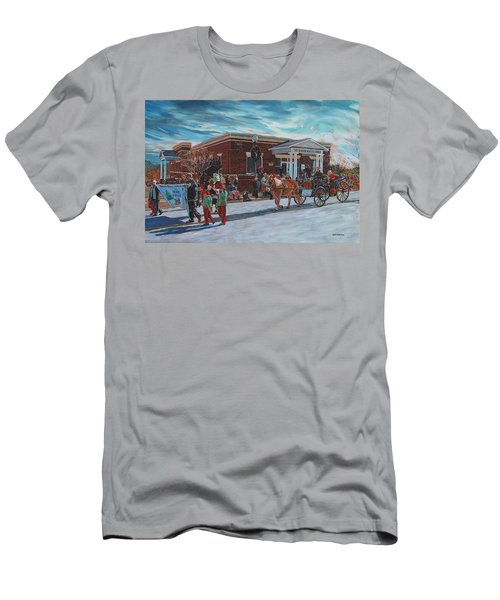 Wake Forest Christmas Parade Men's T-Shirt (Athletic Fit)
