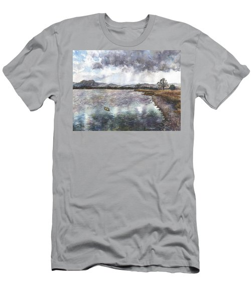 Walden Ponds On An April Evening Men's T-Shirt (Athletic Fit)