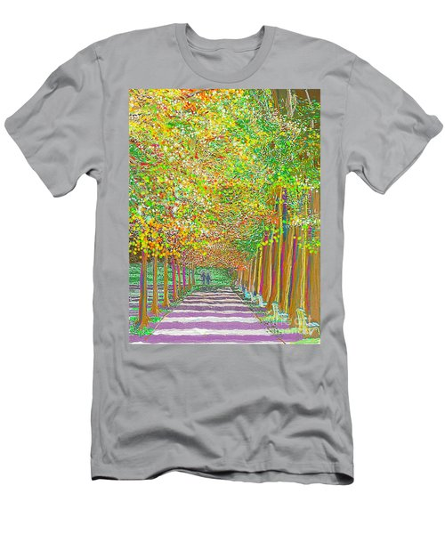 Walk In Park Cathedral Men's T-Shirt (Athletic Fit)