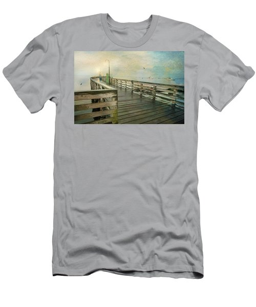 Walk On By Men's T-Shirt (Slim Fit) by Diana Angstadt