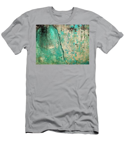 Wall Abstract 97 Men's T-Shirt (Slim Fit) by Maria Huntley