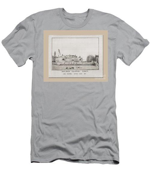 Walmer Castle Kent Men's T-Shirt (Athletic Fit)