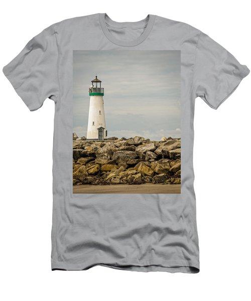 Walton Lighthouse Men's T-Shirt (Slim Fit) by James Hammond