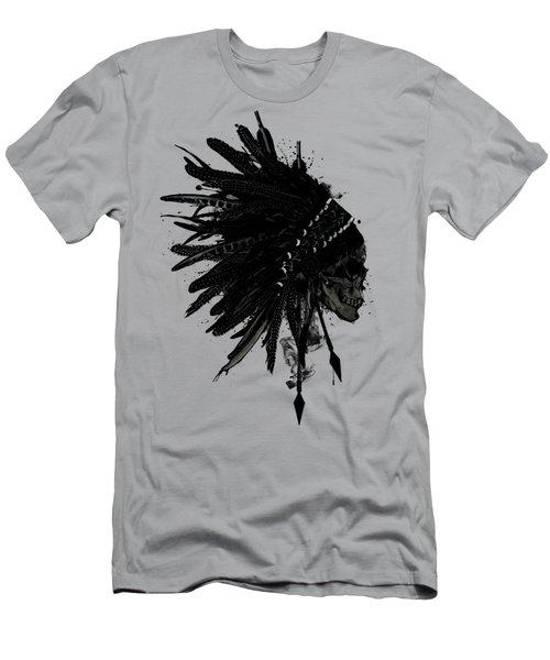 Warbonnet Skull Men's T-Shirt (Athletic Fit)