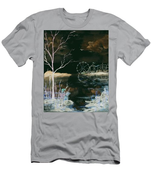 Watching The World Go Round Inverted Men's T-Shirt (Athletic Fit)