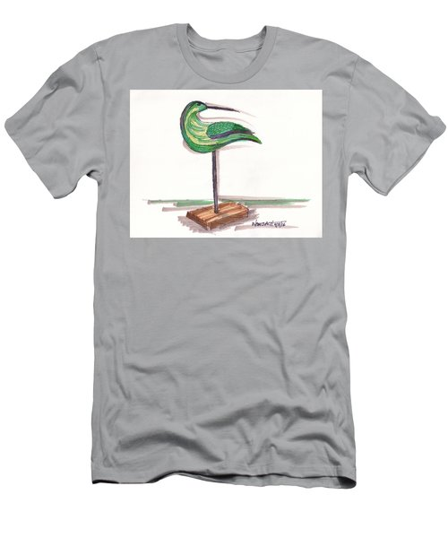 Water Fowl Motif #3 Men's T-Shirt (Athletic Fit)