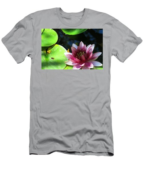 Water Lilly Men's T-Shirt (Slim Fit) by Betty Buller Whitehead