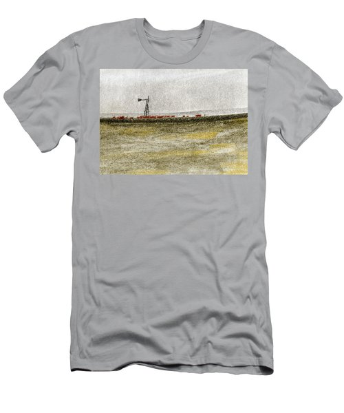 Water, Ranching, And Cattle Men's T-Shirt (Athletic Fit)