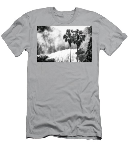 Waterfall Sounds Men's T-Shirt (Slim Fit) by Hayato Matsumoto