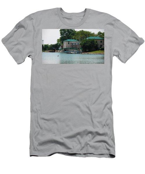 Waterfront Men's T-Shirt (Slim Fit) by Jose Rojas