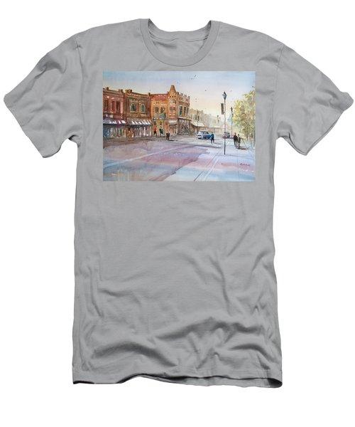 Waupaca - Main Street Men's T-Shirt (Athletic Fit)