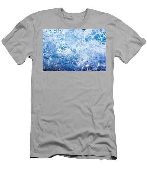 Wave With Hole Men's T-Shirt (Athletic Fit)