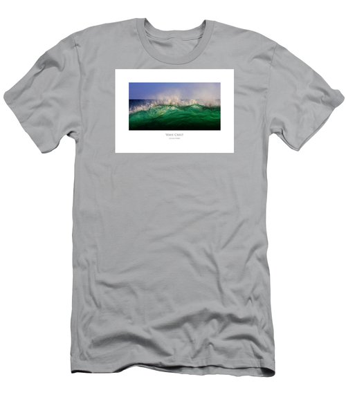 Men's T-Shirt (Athletic Fit) featuring the digital art Wave Crest by Julian Perry