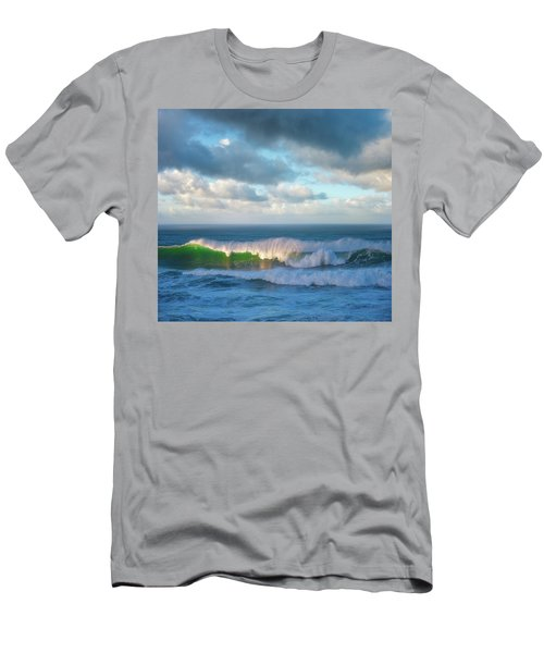 Men's T-Shirt (Slim Fit) featuring the photograph Wave Length by Darren White