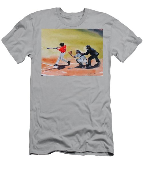 Wcu At The Plate Men's T-Shirt (Slim Fit)