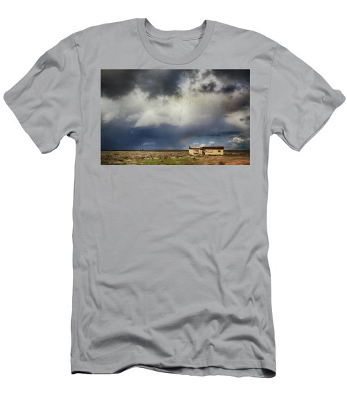 Men's T-Shirt (Slim Fit) featuring the photograph We All Need A Little Hope by Laurie Search