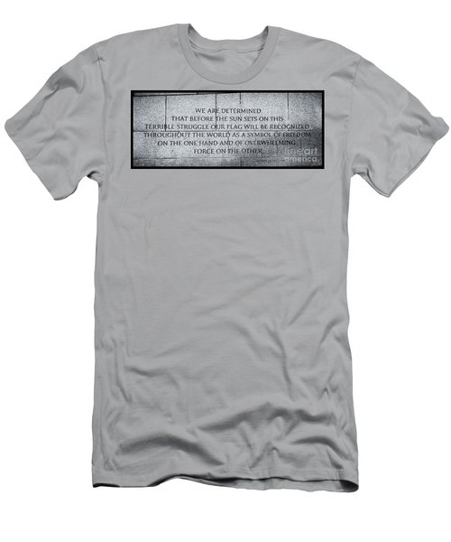 We Are Determined...... Men's T-Shirt (Athletic Fit)