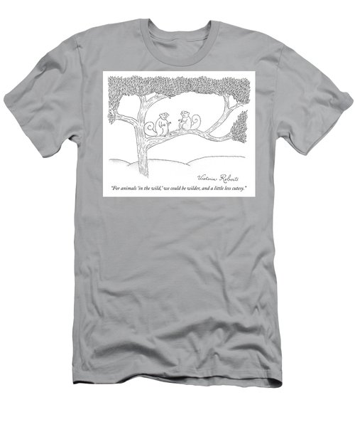 We Could Be Wilder Men's T-Shirt (Athletic Fit)