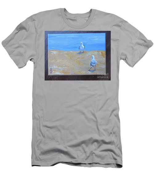 We First Met On The Beach Men's T-Shirt (Athletic Fit)