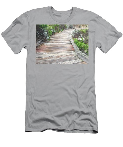 Weathered Path Men's T-Shirt (Athletic Fit)