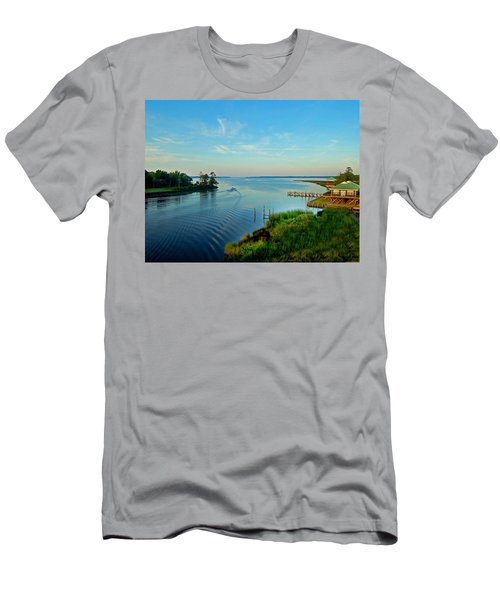 Weeks Bay Going Fishing Men's T-Shirt (Athletic Fit)