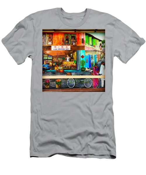 Welcome To My Neighborhood Men's T-Shirt (Athletic Fit)