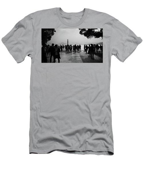 West Lake, Hangzhou Men's T-Shirt (Athletic Fit)