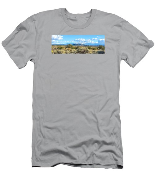 Men's T-Shirt (Slim Fit) featuring the photograph West Of Taos by Brenda Pressnall