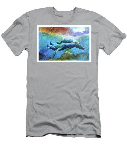 Whale Watch Men's T-Shirt (Athletic Fit)