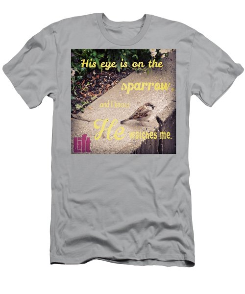 What Is The Price Of Two Sparrows-one Men's T-Shirt (Athletic Fit)
